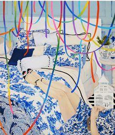 Naomi Okubo - acrylic painting
