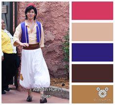 Disney Park Photography - Photo: Aladdin Color Palette