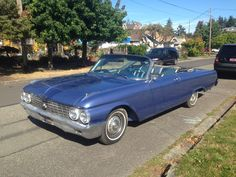1962 Ford Galaxie 500 Sunliner. It's a project car, but we're giving her a full restoration.