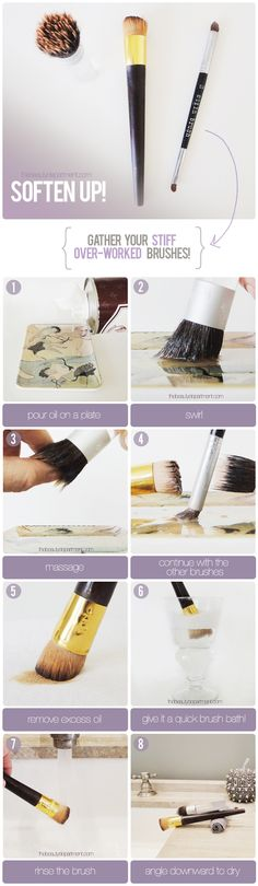 Bring your brushes back to life!