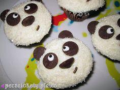 Chocolate Panda Cupcakes