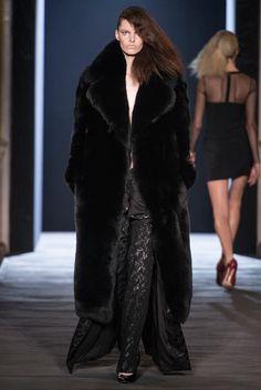 Awsome black fox fur coat