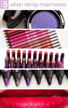 5 Must-Have Urban Decay Products