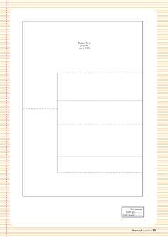 Stepper card template