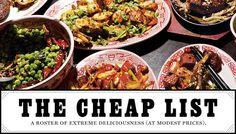 Eat Cheap 2012 -- New York Magazine
