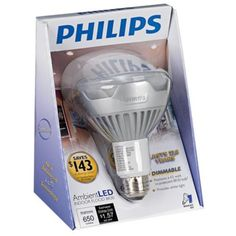 Philips Ambient LED 13 Watt BR30 Indoor Flood Light Bulb - Awesome light bulbs that we bought at Home Depot for 40 bucks. They last 22 years! Too bad it looks like this particular bulb is discontinued.