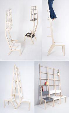Designer Seung Yong Song's Space saving furniture.