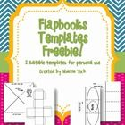This product includes two flapbooks for you to print as is or modify for whatever you are teaching. If you like these freebies, be sure to check ou...