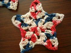 Grannie's Star - free crochet pattern