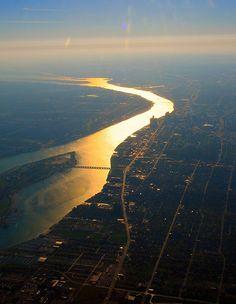 Detroit River. Scott Bergey