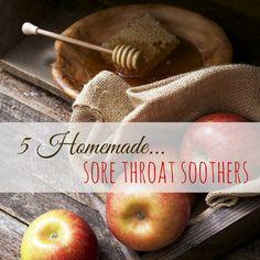Homemade Sore Throat