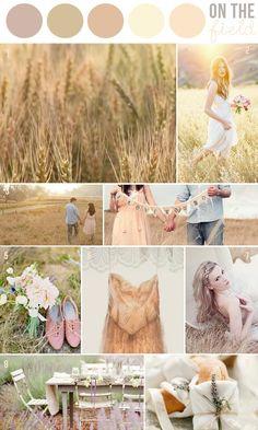 field, color palettes, color pallettes, summer color pallets
