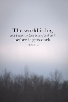 A beautiful, inspiring quote...