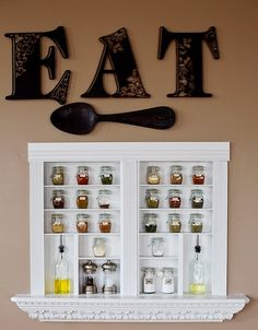 Built-in Spice Cabinet {idea}