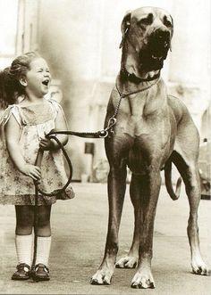Big Dog, Little Girl