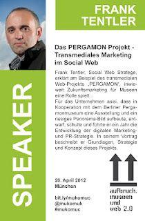 Frank Tentler - Speaker @ #mukomuc & #scmuc12  http://scmuc.posterous.com