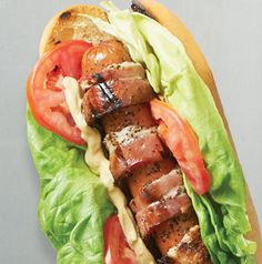 blt dog, hot dogs