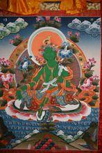 Green Tara tanghka, Tara Mandala bookstore