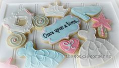 Cinderella, princess cookies