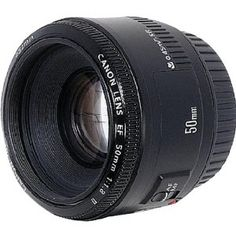 Canon EF 50mm f/1.8 II Camera Lens    I want this lens!  Please and thank you!