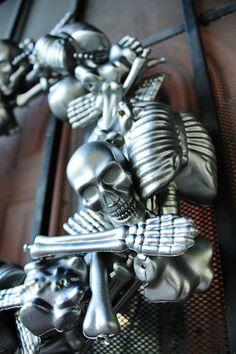 Skeleton Parts Wreath DIY