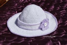 This childs crochet hat is perfect to protect little ones from sunburns. Childs Crochet Sun Hat Spring into Summer Free Pattern - Media - Crochet Me