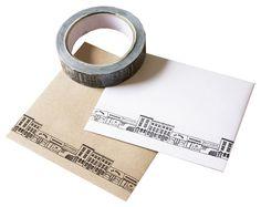 'London Streets' sticky tape by Rosa