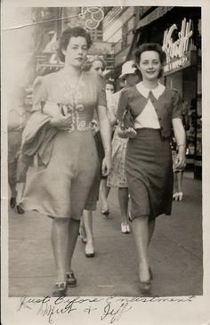 street fashion 1940s style