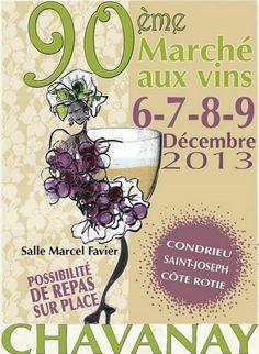 90ème Marché aux Vins, Chavanay, Rhône-Alpes