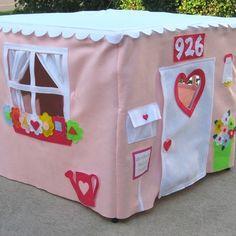 DIY Fabric Playhouses