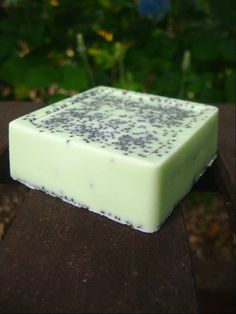 Peppermint and Poppyseed Exfoliating Shea Butter by OakStreetSoap, $4.50