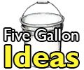 5 Gallon Bucket DIY tutorials, articles and links. Need to know what to use your buckets for? This is the place to get great ideas.