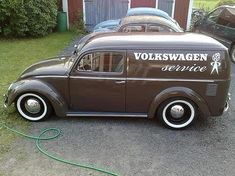 VW service vehicle