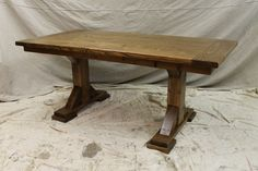 Unruh Furniture | Pedestal Base Table