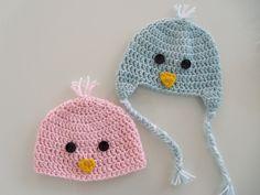 sennaloves: free pattern: newborn chick beanie