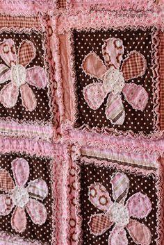 Rag Flower Quilt