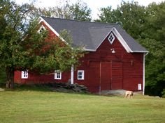 My barn.  I host pig roast dinners, square dances and concerts here throughout the summer.  Happiness :)
