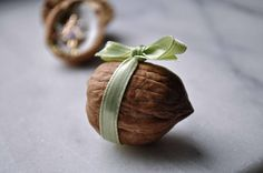 gift in a walnut shell... (necklace etc)