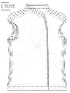 Patterns for wet felting