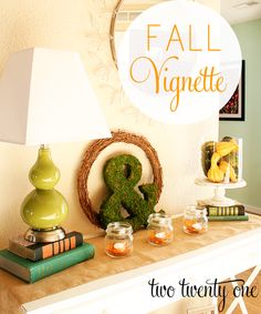 two twenty one: simple #fall vignette