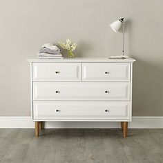 Devon 4-Drawer Chest Of Drawers   The White Company
