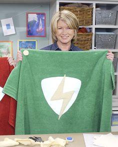 Superhero Cape Towels