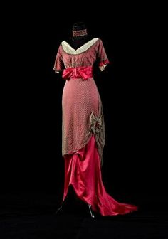 1910s Evening dress, 1910s, from the collection of Alexandre Vassiliev.