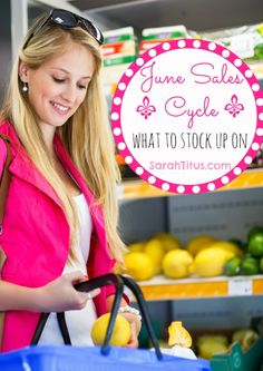 June Sales Cycle: What To Stock Up On