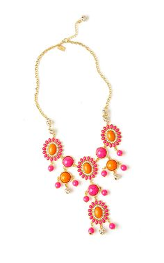 Lilly Pulitzer Dew Drop Bib Necklace