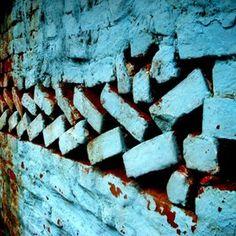 #turquoise #bricks #pattern