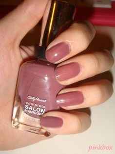 sally hansen nail polish plums the word