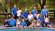 large family photo