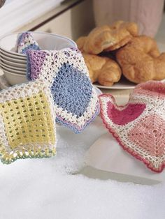 Dainty Dishcloths Free Crochet Pattern