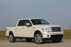 2013 Ford F-150 Limited (Avalon's is red, but this is her truck)